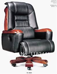 leather antique wood office chair leather antique. CEO Office Chair With Top Genuine Leather And Solid Wood Material, Antique Wooden Boss C