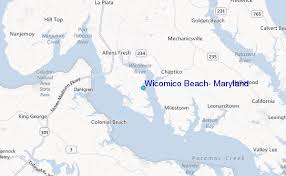Tide Chart Assateague Island Md Wicomico Beach Maryland Tide Station Location Guide