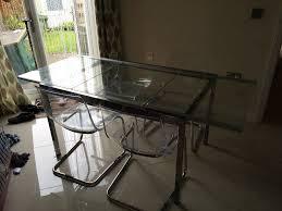 ikea glivarp extendable table 4 tobias chairs