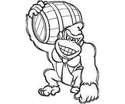 Donkey Kong Drawing At Getdrawingscom Free For Personal Use