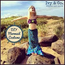 diy kids mermaid costume fin you can walk in starfish headband ivy and company