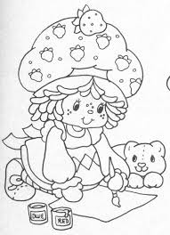 18new strawberry shortcake coloring book more image ideas