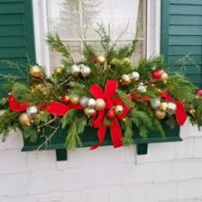 Christmas Window Box Decorations Winter Window Box Ideas 58