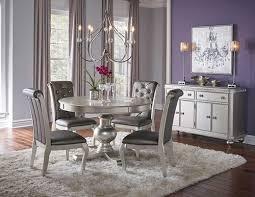 hefner silver 5 pc dining set make your dining room
