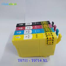 Trouver complète driver et logiciel d installation pour imprimante epson stylus sx105. Einkshop Cartouches D Encre T0711 4 Pieces Pour Imprimante Epson Stylus Dx4000 Sx105 Sx110 S20 D78 D92 Sx100 Sx200 Sx205 Sx210 Sx400 Sx405 Aliexpress