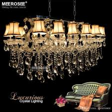 luxurious maria theresa chandelier rectangle clear crystal drop