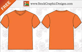 free t shirt template men s basic free t shirt templates vector stockgraphicdesigns