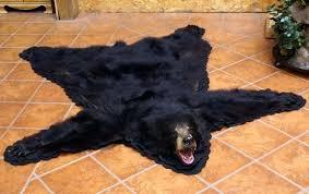 bear skin rugs black bear skin rugs for polar bear skin rug canada