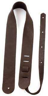 bison leather guitar straps made in the usa