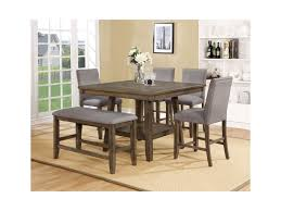 Manning 6 Pc Dining Group With Bench By Crown Mark At Royal Furniture
