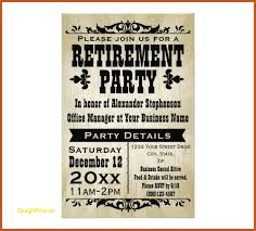 retirement flyer template free retirement party flyer under fontanacountryinn com