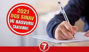 ÖSYM 2021 DGS sınavı başvuruları ne zaman başlayacak? Dikey Geçiş Sınav ve  başvuru takvimi! - EĞİTİM Haberleri