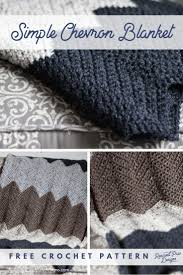 Double Crochet Chevron Blanket Pattern Awesome Decorating