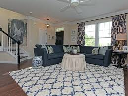 White And Blue Area Rug Navy Rugs Magnificent Indoor A Full Size Of