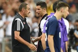 Cristiano Ronaldo 'clashes' with Sarri during Juventus' 3-2 defeat to  Tottenham [VIDEO] - Daily Post Nigeria