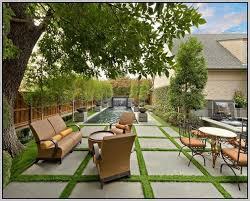 grass artificial grass backyard