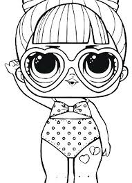 Luxury Lol Doll Coloring Pages Classicalwatchessaletop