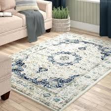 laurel foundry modern farmhouse hosking blue area rug reviews wayfair com area rugs wayfair canada round