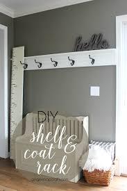 Entry Coat Rack Shelf Extraordinary Cedar Woodworking Projects Diy Coat Rack Stand Pinterest Coat