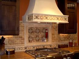 Beautiful Kitchen Backsplash Beautiful Tile Backsplash Cherry Cabinets Beige Ceramic Tile