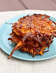 foods with low glycemic inde like sweet potatoes and brown rice make you feel full and satisfied latke recipe