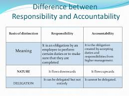 Delegation Of Authority Chart Authority Responsibility And Delegation