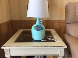 bottle table lamps luxury hand painted wine bottle lamp carlo rossi home decor diy