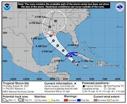 Tropical storm ida could speed across warm gulf waters and slam into louisiana as a major hurricane sunday, the national hurricane center warned Tuseolwuty7bfm