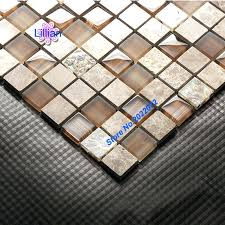 mosaic tile sheets photo 7 of 9 brown stone mix mesh glass mother of pearl mosaic tile sheets