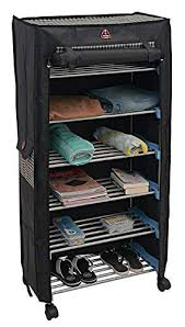 <b>Trendy</b> Classics 6 Shelves Utility <b>Shoe</b> Rack, Mild Steel Collapsible ...