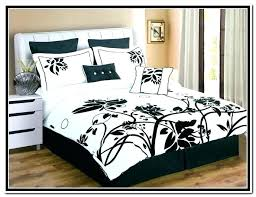 fl print bedding black white bedding sets modern bedroom with black white fl print bedding sets