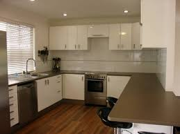 Small Kitchen U Shaped Kitchen Simple Small Kitchen Design Inspirations With Black