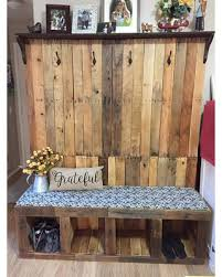 Rustic hall tree bench Rustic Corner Hall Tree Made From Reclaimed Wood Pallet Wood Family Center Rustic Country Hall Better Homes And Gardens Amazing Deal On Hall Tree Made From Reclaimed Wood Pallet Wood
