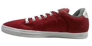 reebok red. reebok men\u0027s on court iii lp red and white denim sneakers d