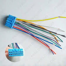 feeldo car accessories official store car audio stereo wiring wiring harness stereo for 02 e320 wagon picture of car audio stereo wiring harness with radio anatenn jack for honda acura