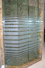 shower glass treatment frosted shower glass expanding bands shower glass frosted design by sans art glass shower glass treatment