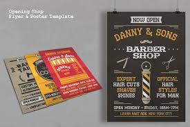 Now Open Flyer Template Opening Shop Flyer Poster Template On Behance