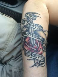 Brothers Tattoo Brothers Lifeordeath Tattoos Tattoos Brother