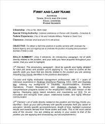 Job Accomplishments List Job Resume Template Word Unique Format Download Formats Screenshot