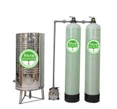 Lọc nước giếng khoan 1m3/h hệ 2 cột - Máy lọc nước Watio