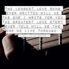 Love Story Quotes Extraordinary Romantic Love Quote The Longest Love Story Ever Told