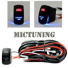cheap 24v relay wiring 24v relay wiring deals on line at get quotations · mictuning 40amp relay 30amp fuse laser blue led light bar spst on off rocker switch