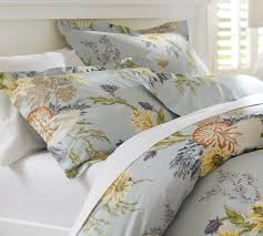 nautilus fl organic duvet cover sham pottery barn throughout king cotton inspirations 0