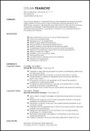 Entry Level Corporate Trainer Website Inspiration Trainer Resume