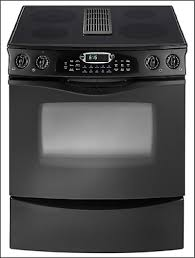 downdraft oven range. Delighful Downdraft SlideIn Downdraft Electric Range And Oven G