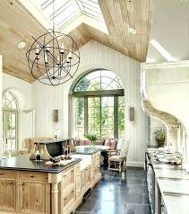 chandelier for angled ceiling cathedral best vaulted lighting hang on sloped fixtures revit a