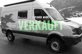 Verkauft Achleitner Vw Crafter 4x4 Wohnmobil Explorer Magazin
