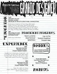 Graphic Designer Resume Example Entry Level Graphic Designer Resume