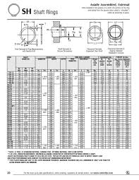 External Retaining Ring Size Chart Metric Best Picture Of