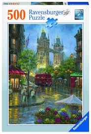 "<b>Пазл Ravensburger</b> ""Живописный Лондон"" <b>500</b> шт арт.14812 ..."